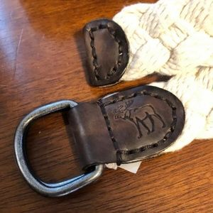 Abercrombie & Fitch Accessories - 3 for $18 EUC Abercrombie Men's Braided Belt
